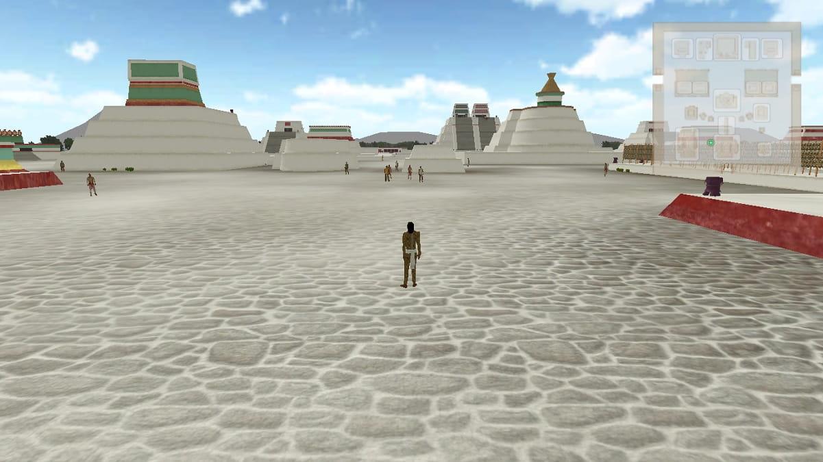 ¿Viaje en el tiempo a Tenochtitlán? Lo puedes hacer de la mano con la UNAM