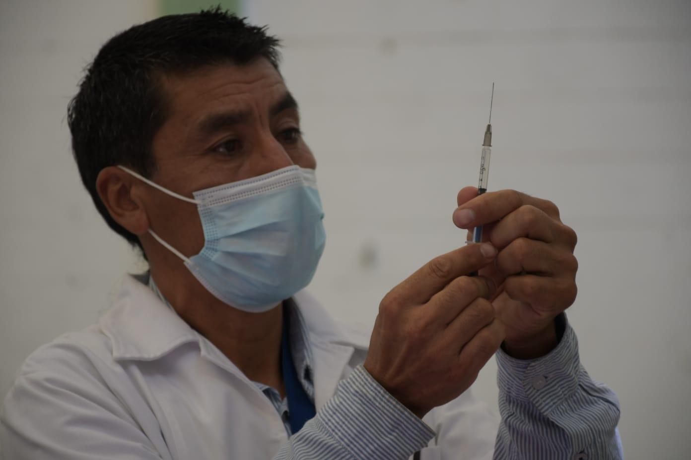 Netzahualcóyotl inicia segunda dosis de vacunación contra covid-19 para adultos de 30 a 39 años
