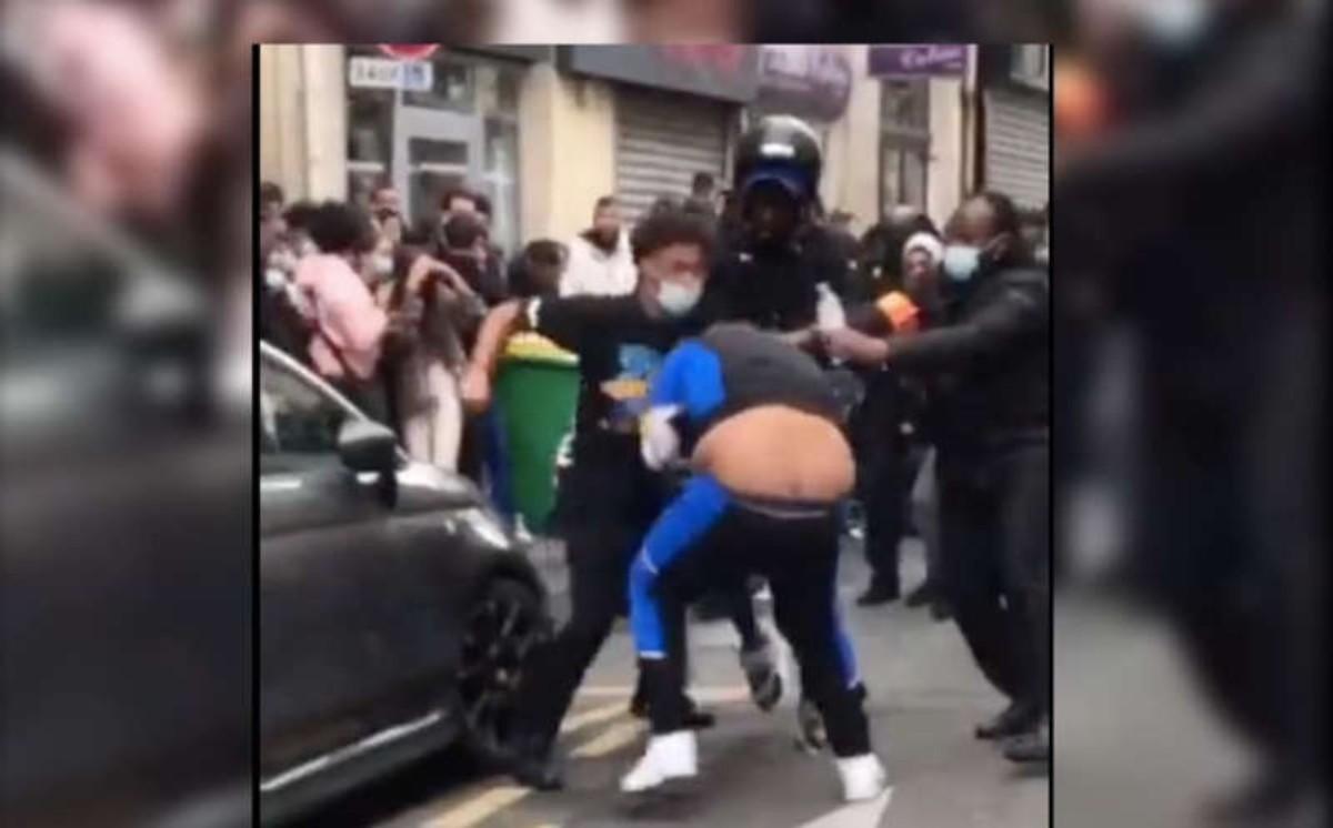 #VIDEO Se arma la campal en cafetería de El Juego del Calamar en Paris