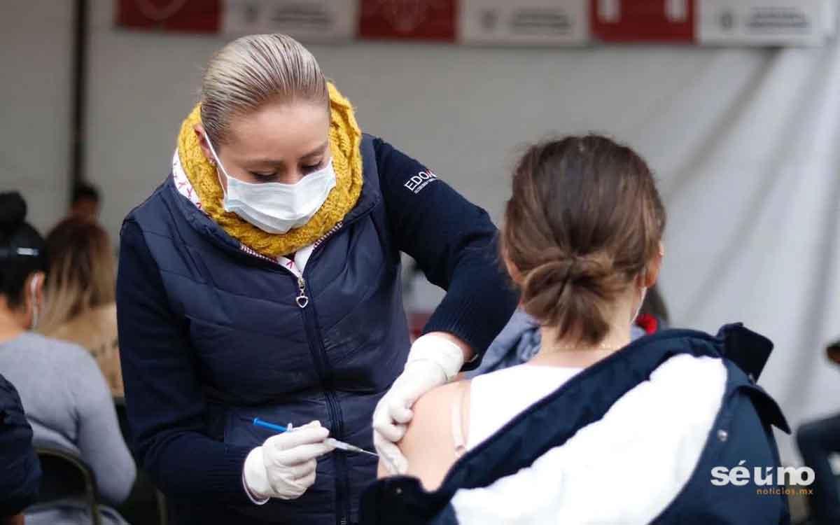 Anuncian segunda dosis de vacunación de 30 a 39 años en el EDOMEX