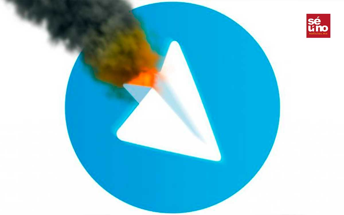 Colapsa Telegram ante la caída de whatsapp y messenger