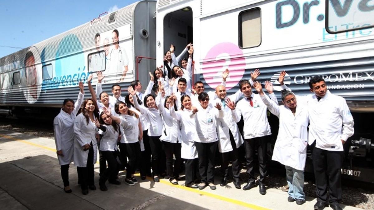 El Tren de la Salud estará por primera vez en la CDMX