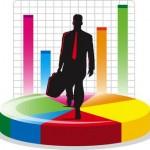 acciones de una empresa, compañía, inversión, oficina, economia, finanzas