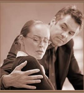 acoso sexual, trabajo, señales sexuales, evite