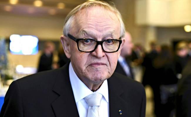 80 Vuotias Martti Ahtisaari Saa Kiitokset Siitä Että