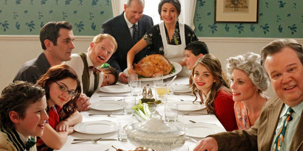 Image result for family at thanksgiving
