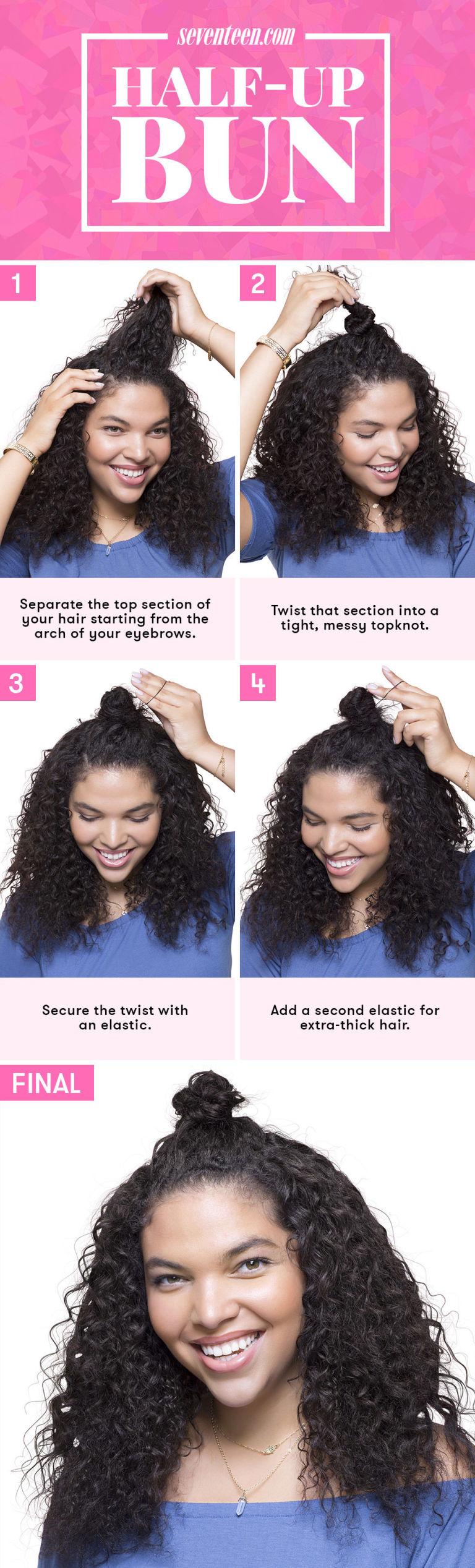 7 No Heat Hairstyles Every Lazy Girl Needs This Summer