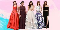 19 Best Two Piece Prom Dresses of 2017 - Crop Top Prom Dresses