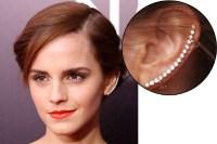 Emma Watson Cool Earrings - Emma Watson Mismatched Earrings