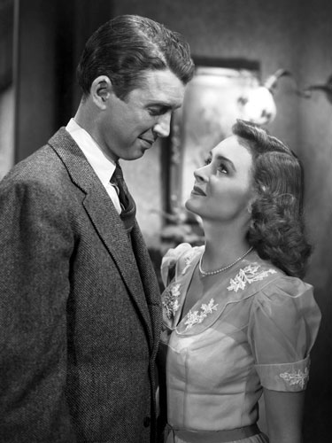 The endearing and true message of how everyone's life is meaningful makes It's A Wonderful Life the ultimate holiday classic. It's almost impossible not to cry (happy) tears at the end.