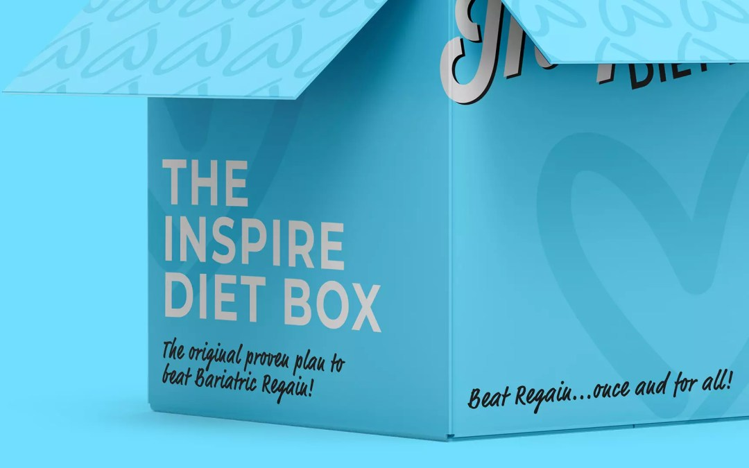 Rebranding & Unbounce landing page for the Inspire Diet
