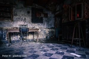 Zimmer zum Schreiben