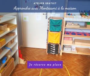 mon organisation Montessori à la maison