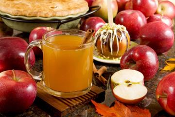 Яблоки и сидр