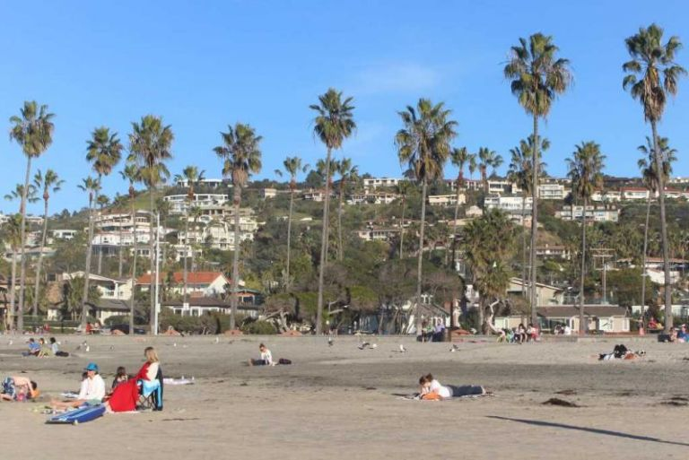 Ла-Хойя (La Jolla) Пляж La Jolla Shores