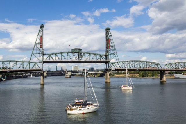 Портленд. Мосты Hawthorne и Morrison