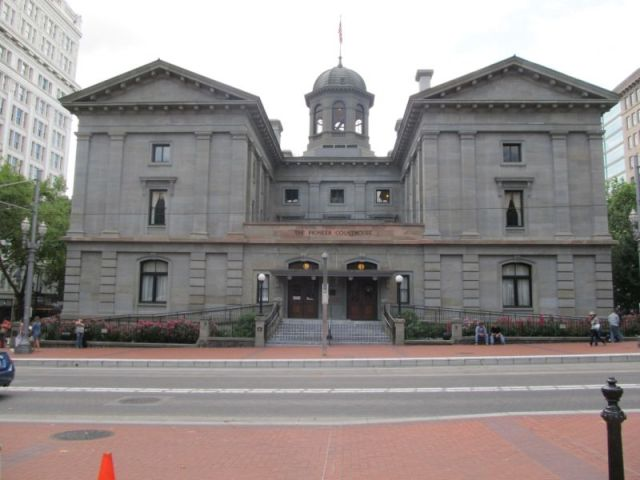 The Pioneer Courthouse – здание апелляционного суда девятого округа США в Портленде
