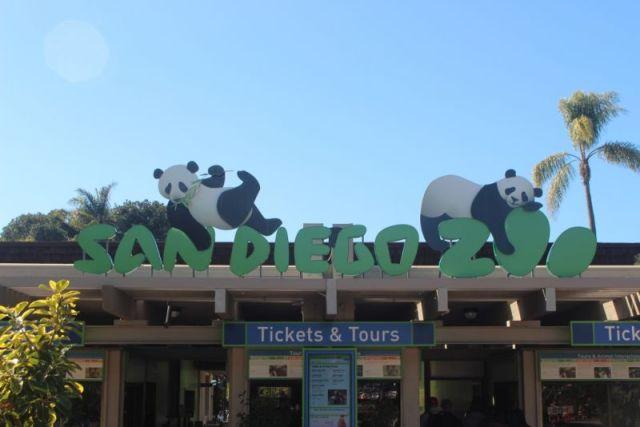 Вход в зоопарк Сан-Диего
