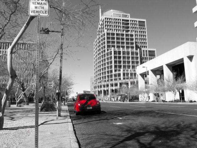 Феникс. Пустынне улицы даунтауна