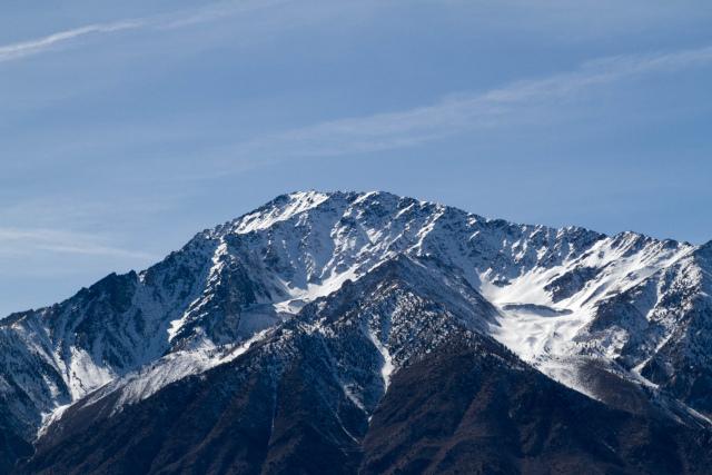 Калифорния. US-395 Бишоп (Bishop) Сьерра-Невада (Sierra Nevada)