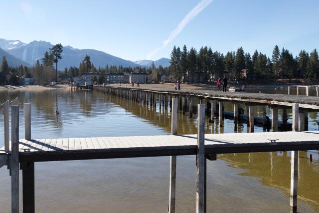 Пирс на озере Тахо (Lake Tahoe Pier)