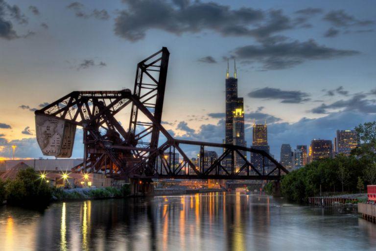 Chicago Willis Tower Чикаго Уиллис Тауэр Достопримечательности