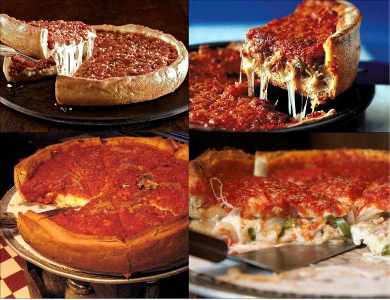 Сhicago style pizza Чикагская пицца