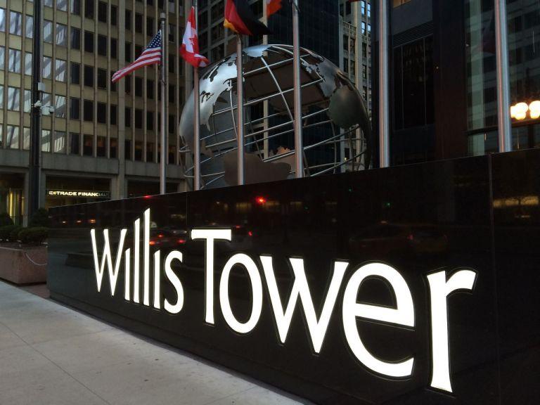 Chicago Willis Tower Чикаго Уиллис Тауэр