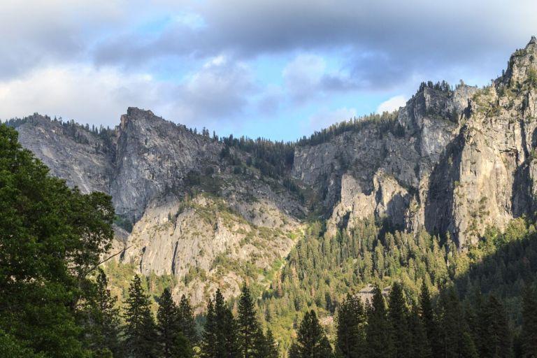 Йосемити парк. Долина Йосемити.