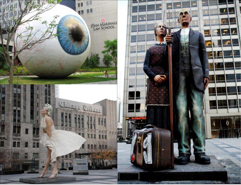 Чикаго. Искусство на улицах города