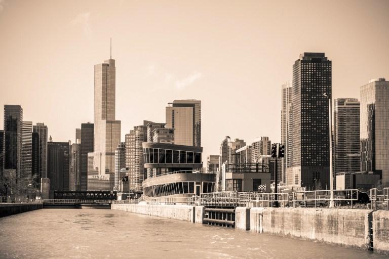 Чикаго Достопримечательности Башня Trump