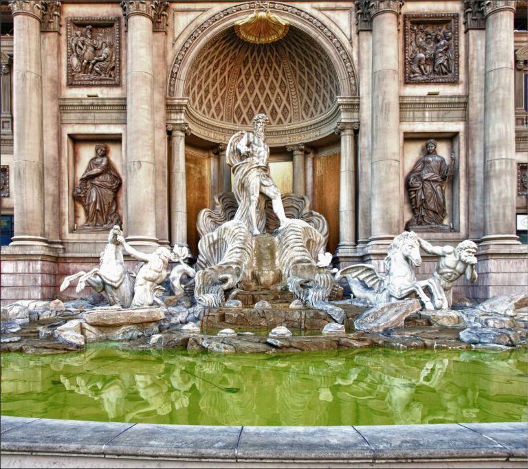 Лас-Вегас. Аналог римского фонтана Треви