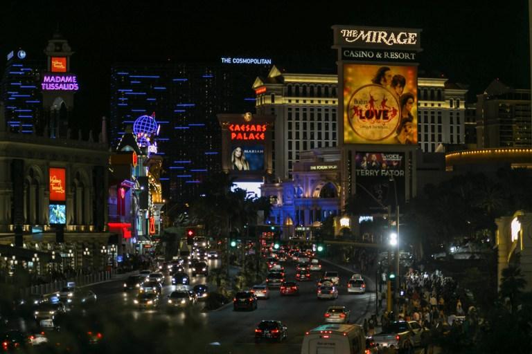 Ночной Лас-Вегас
