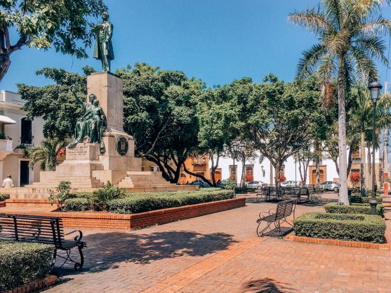 Санто-Доминго. Площадь Дуарте