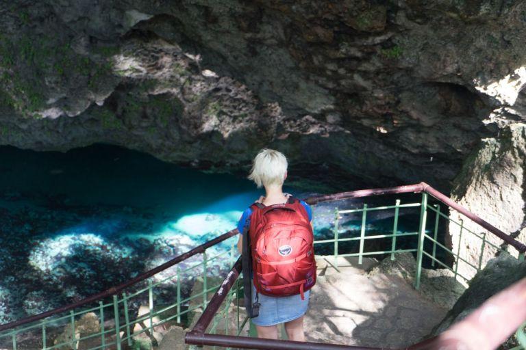 Санто-Доминго Национальный парк Los Tres Ojos