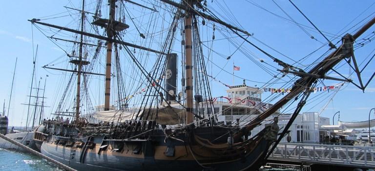 Морской музей Сан-Диего. HMS Surprise — грозный хозяин морей