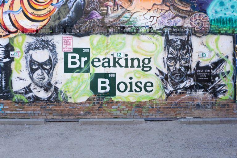 Breaking Boise. Freak Alley Gallery в Бойсе