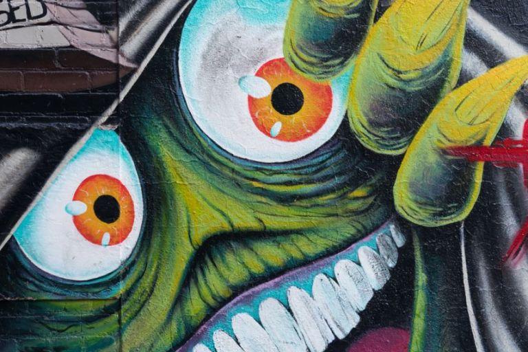 Чудик из Freak Alley Gallery в Бойсе