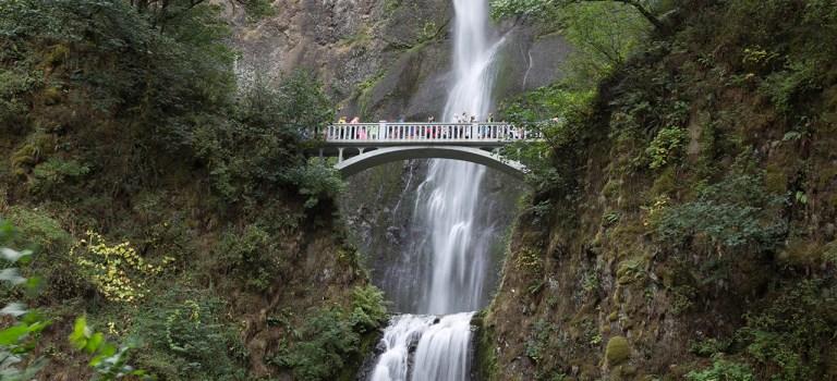 Мир водопадов. Водопад Малтнома — могучий орегонский красавец