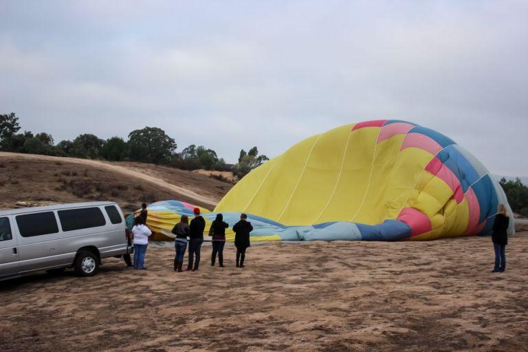Темекула. Купол воздушного шара
