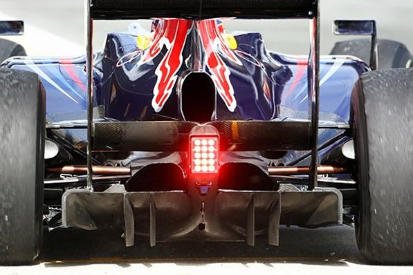 The RB6 was probably the car with the most downforce in