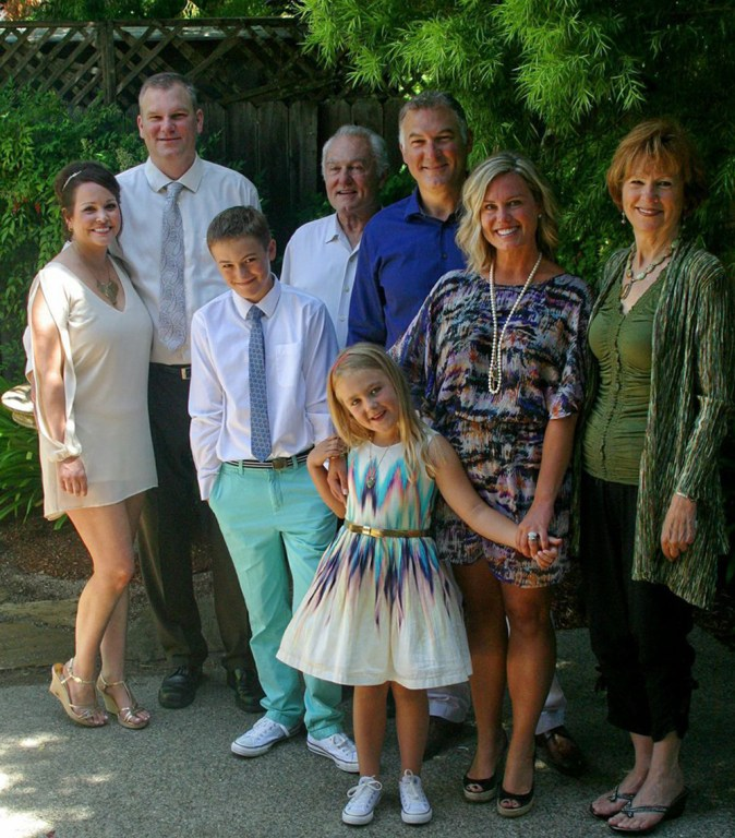The Sevenau Family May 23, 2014 Marion, Jon, Bob, Matt, Brooke, Catherine children: Satchel, Temple
