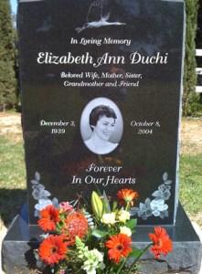 Elizabeth Ann (Clemens) Duchi 1939 - 2004