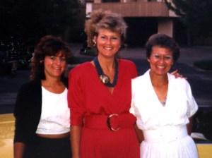 Julie, Catherine, Liz 1988, Sonoma