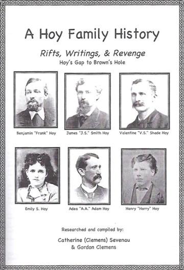 A Hoy Family History cover