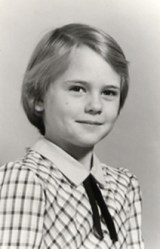 Cathy Clemens, age 6