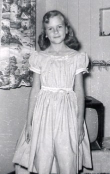 Cathy, Easter Sunday, Hawaii 1958