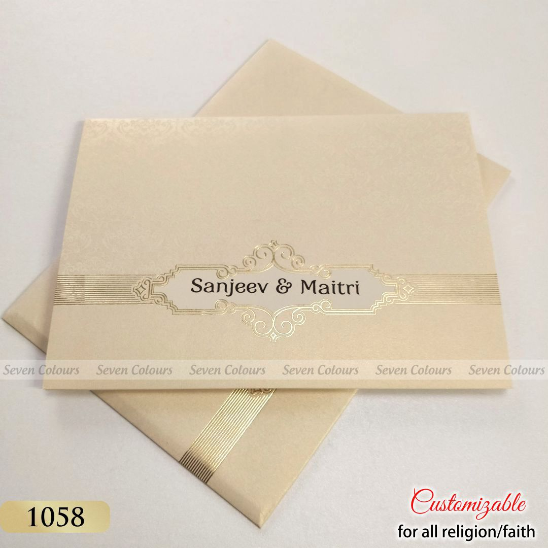 Tamil Wedding Invitations from India