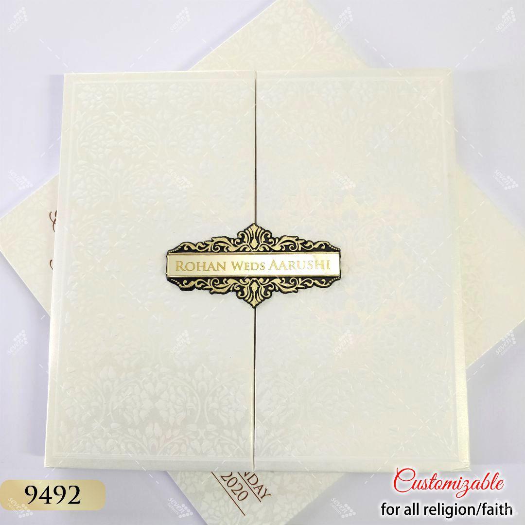 door style hardcover card