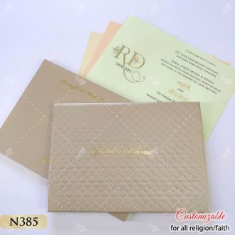 punjabi canada wedding designer card
